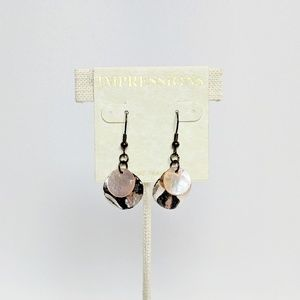 💢3 for $25💢Impressions Silver Pink Earrings